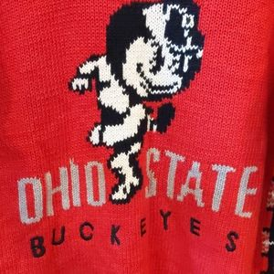 OH - IO. Ohio State Buckeyes vintage cardigan
